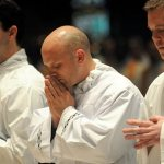Transitional deacons ordained at Basilica of St. Mary