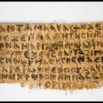 Papyrus fragment with reference to Jesus' 'wife' stirs debate