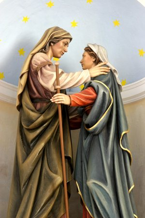 """As Mary spoke, the Holy Spirit spoke to Elizabeth's heart,"" writes Deacon John Drees. Bigstockphoto.com"
