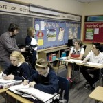 Students and teachers benefit from 'flipped' classroom