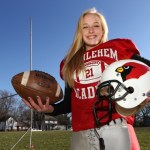 Just for kicks: Girl enjoys playing on Bethlehem Academy football squad