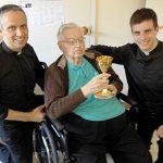 Msgr. Srnec, archdiocese's oldest priest, dies at 98