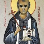 Icon of Blessed Junipero Serra is 'window to heaven'