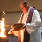 Red Wing parish begins Lent with palm burning