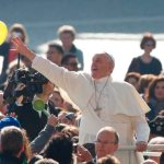 God is greater than our sins, pope says at general audience
