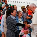 From nightmare to dream: Syrian refugees thank pope for safety