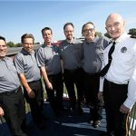Clergy take to the course during Ryder Cup