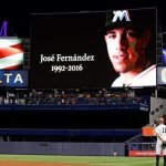 Fans remember Miami Marlins pitcher with parade, prayers at Cuban shrine