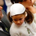 Open your heart to that small splendor born in Bethlehem, pope says