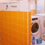 Papal almoner opens laundry service for the poor