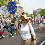 Catholics bring Pope Francis' call to protect creation to climate march