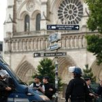 Attack on police near Notre Dame cathedral shakes Paris