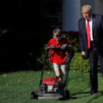 Young Catholic entrepreneur takes lawn-mowing business to White House