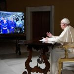 At Benilde-St. Margaret's alum's request, Pope Francis calls International Space Station