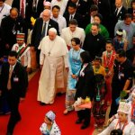 Respect the rights of all groups, pope tells Myanmar's leaders