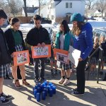 Highland Catholic School among those observing national walkout day