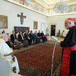 Pope meets his advisory commission on child protection