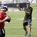 Vikings QB coach inspired by Sparano's faith, priorities