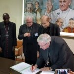 Bishops sign document calling for action against climate change