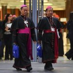Who are the Chinese bishops received back into ecclesial communion?