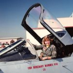 Pioneering Navy pilot recalled for her humility, love of faith and family