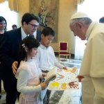All children deserve a home, pope says, encouraging adoption