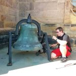 Teen rings in 16th birthday with bells at Indiana Catholic parish