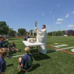 Camp combines faith and football