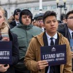 DACA recipients undaunted moments before visiting Congress