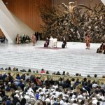 Pope to students: Don't be afraid of truth, never settle for mediocrity
