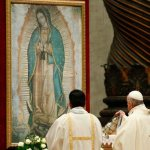 Mary is loving mother, humble disciple, pope says on Guadalupe feast