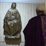 Pope encourages Catholics to contemplate 'seven sorrows' of Mary