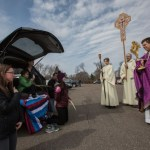 New Brighton pastor tours seven parks bearing the Eucharist