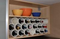 Diy Pipe And Wood Wine Rack | Rachael Edwards