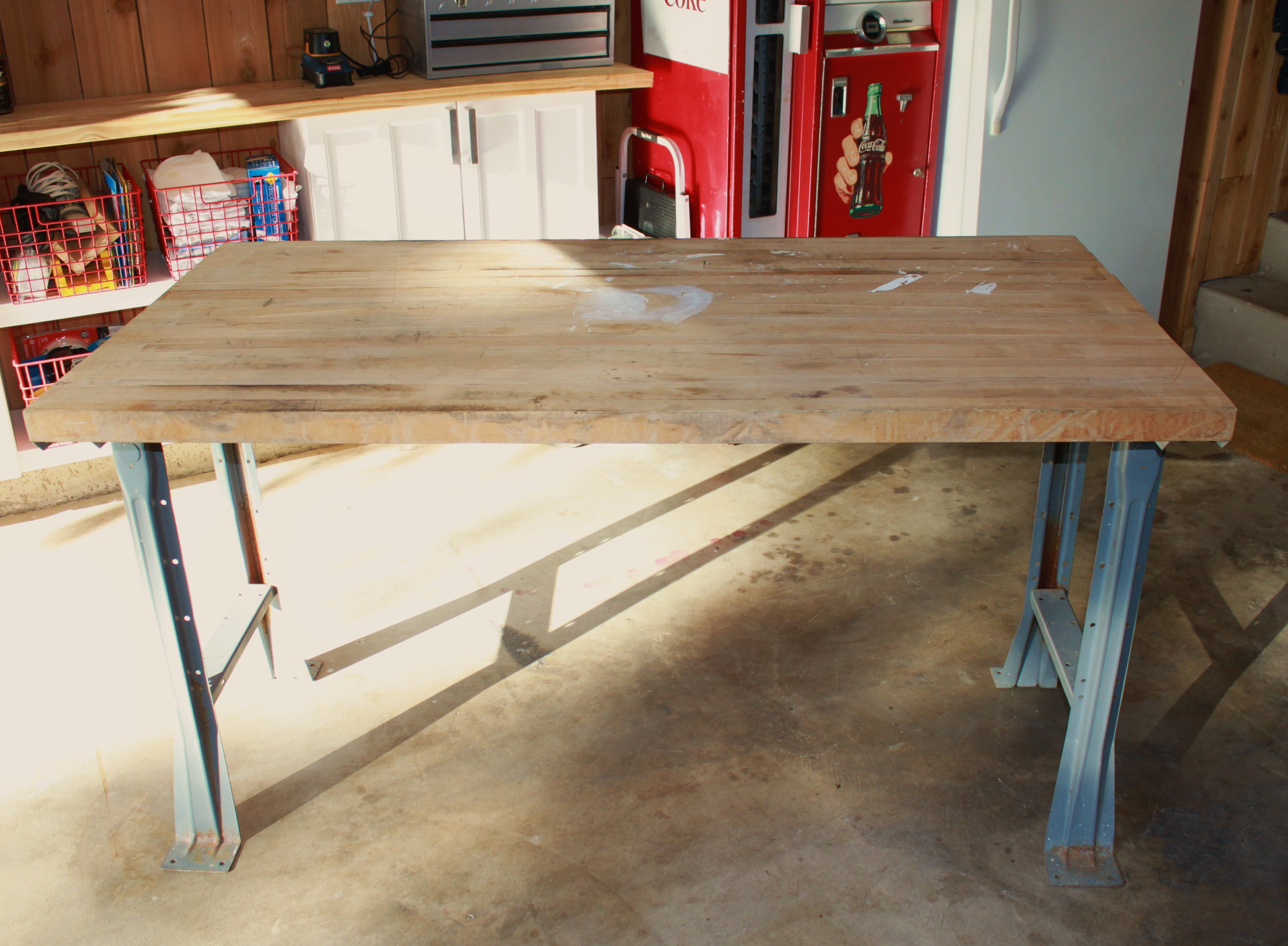 Work Table Design Build 4 X 8 Work Table Plans Diy Woodworking Plans Outdoor