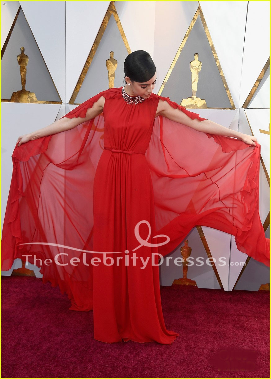 Oscars 2018 Roter Teppich Sofia Carson 2018 Oscar Roter Teppich Abendkleid
