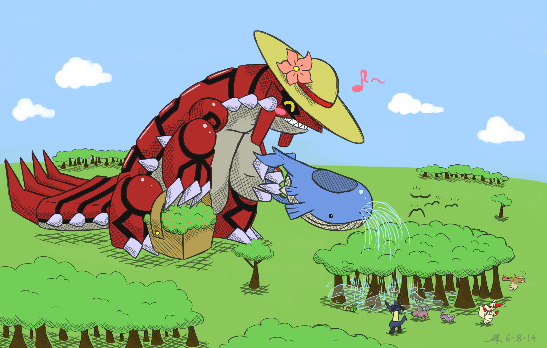 Image Result For The Saga Of Kyogre And Groudon Chapter Beginning Fanfiction