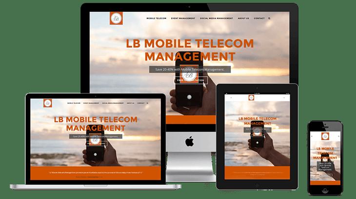 lb mobile telecom - the chase design