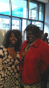 The Chef In Pearls and Angie Stone