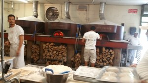 Wood for the ovens