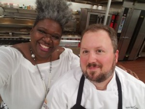 The Chef In Pearls and Chef Nick Walker
