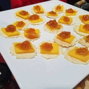 Samples of  Emily G's Datil  Peach Marmalade