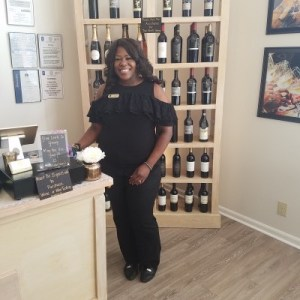 Regina Jackson, owner of Corks and Cuvee