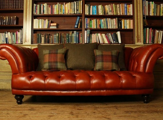 Ledercouch Cognac Clearance Sofas | The Chesterfield Company