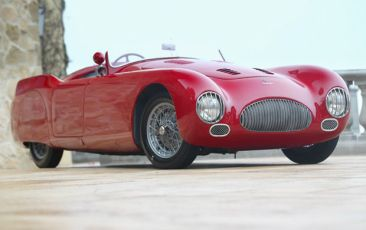 1947 Cisitalia 202 SMM Spider Nuvolari three quarter