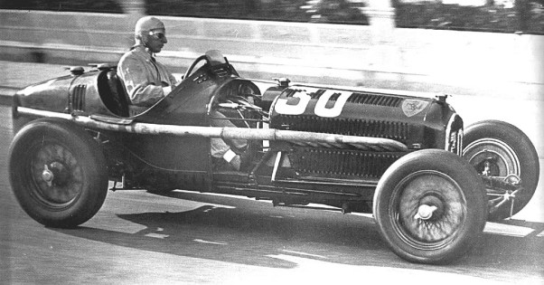 Carlo Felice Trossi at the 1934 Nice GP