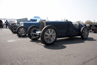 Bugattis at the Vintage Revival Montlhéry 2013