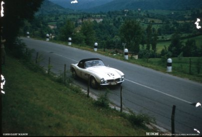 BMW 507 at the Mille Miglia, 1958