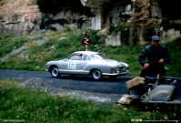 Karmann Ghia at the Mille Miglia, 1958