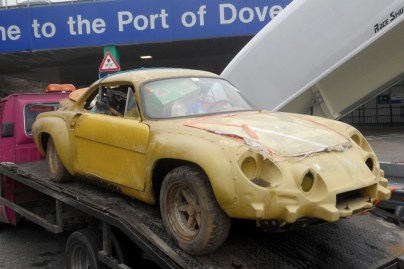 Alpine A110 1800VA before restoration